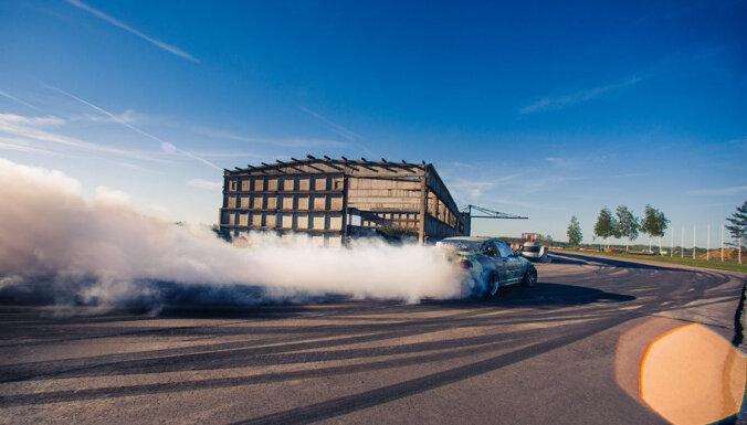 Latvijā startē jauna autosporta disciplīna – 'Gymkhana'