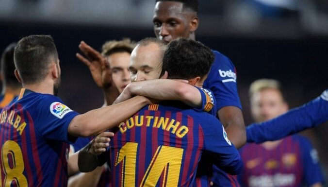 'FC Barcelona' sasniegusi Pasaules kausa rekordu – katrā grupā pa spēlētājam