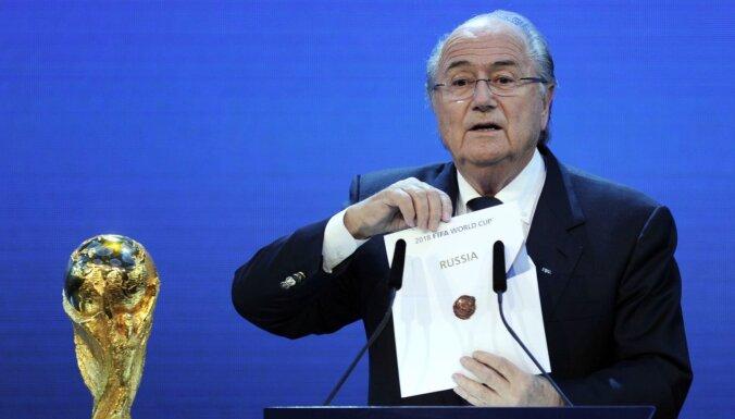 Kā nopirkt FIFA amatpersonas? Krievijā nopludināti dokumenti par kukuļošanas iespējām