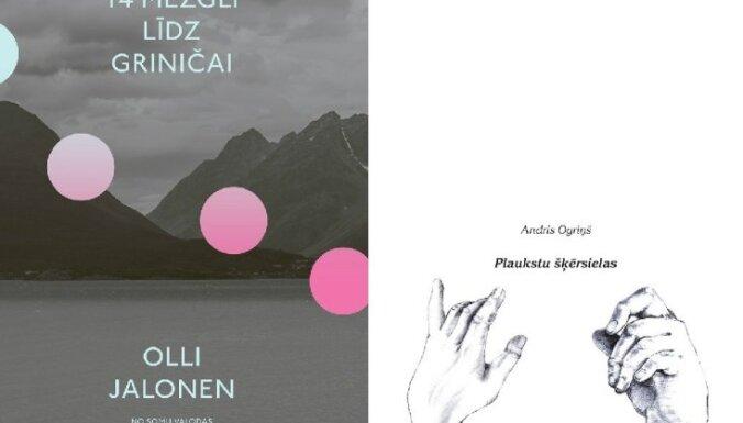 Apgāds 'Mansards' laidis klajā divas jaunas grāmatas