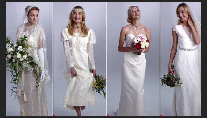 ВИДЕО: Как в течение 100 лет менялась мода на свадебные платья