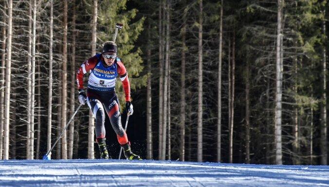 Bendikai pasaules čempionāta individuālajā distancē 25. vieta
