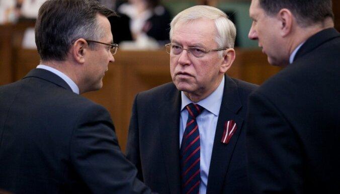 Бригманис: правящие зондируют готовность СЗК войти в новое правительство