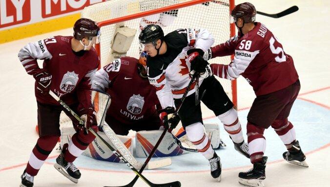 Kanādas hokeja izlase nākamgad PČ spēlēs Rīgā