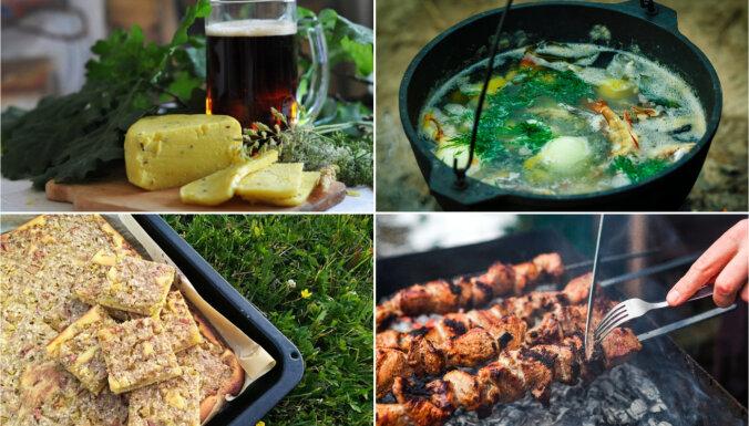 No alus un siera līdz šašlikam un plātsmaizēm: ērts recepšu špikeris Jāņiem