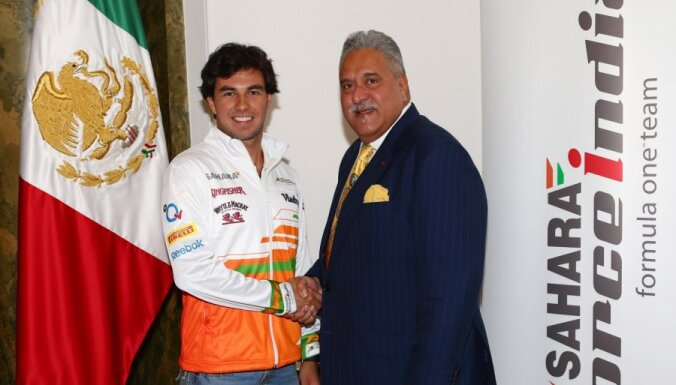 'Force India' par otro pilotu apstiprina Peresu