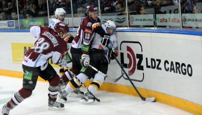 Rīgas 'Dinamo' aizvada izbraukuma spēli Čerepovecā