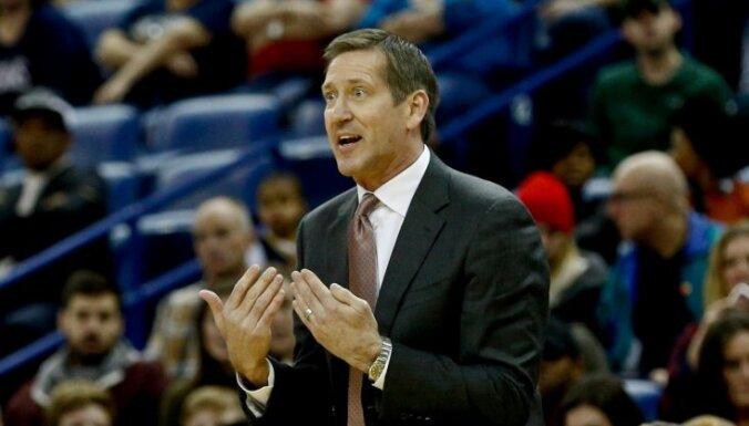 'Knicks' treneris par Porziņģa savainojumu: situācija nav lieliska