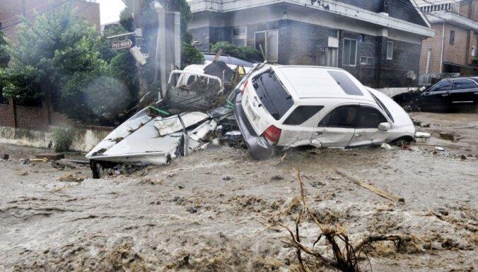 Zemes nogruvumos Korejā 32 bojāgājušie