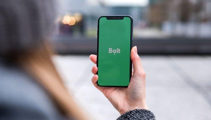 Вызов такси через приложение Bolt уже возможен в шести городах Латвии