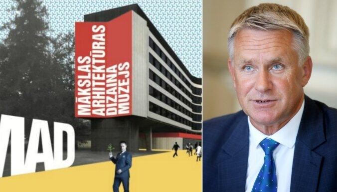 'Spilgta, tomēr utopiska ideja'. KM komentē piedāvājumu par mākslas, arhitektūras un dizaina centru Kronvalda parkā