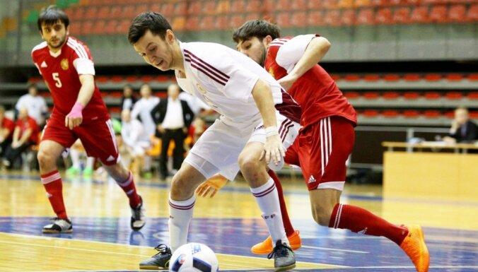 Сборная Латвии пробилась в следующий раунд отбора на ЕВРО-2018 по футзалу