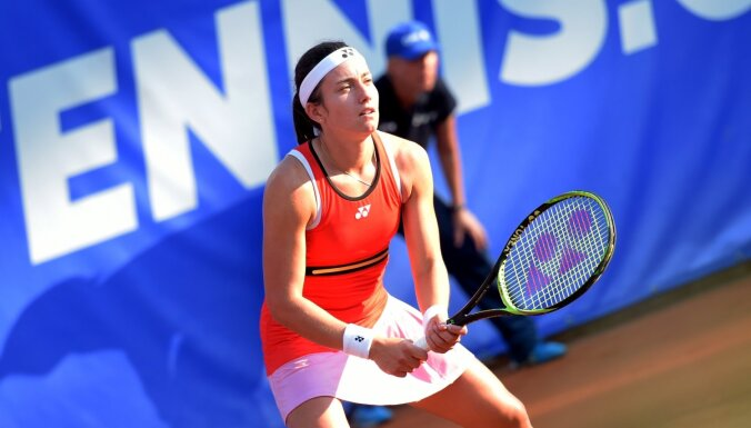 Sevastova Sinsinati WTA 'Premier 5' turnīru sāks pret Kuzņecovu; Ostapenko jāspēkojas ar Putincevu