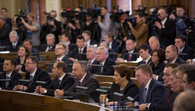 Избран президиум 12-го Сейма Латвии