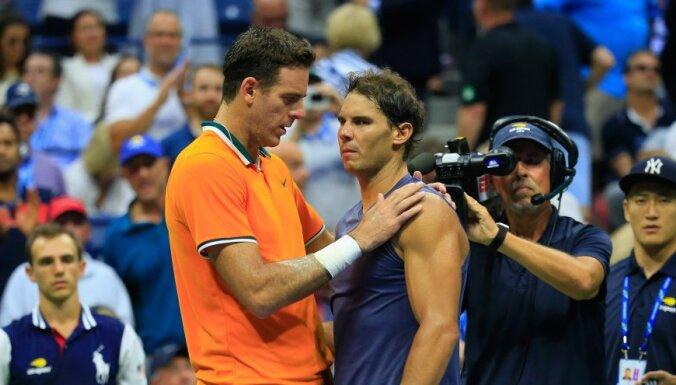 Надаль в полуфинале US Open не доиграл матч с дель Потро из-за травмы