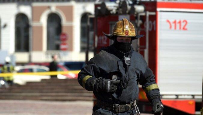 Pirmdien ugunsdzēsēji devušies uz 18 glābšanas darbiem