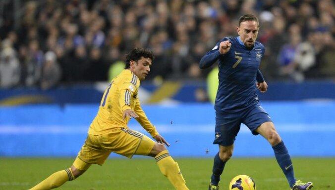 Франция не пустила Украину на чемпионат мира-2014