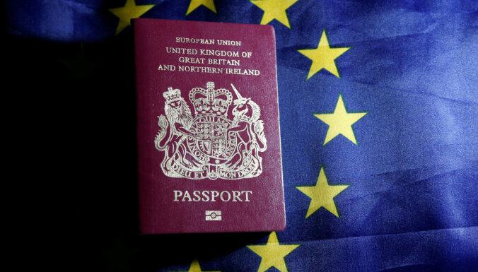 Рижский аэропорт напоминает: c 1 октября попасть в Великобританию можно только с паспортом