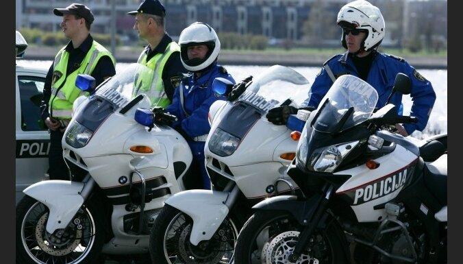 Policijai būs 16 jauni motocikli