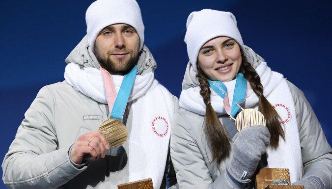 Российские керлингисты Крушельницкий и Брызгалова отказались от завоеванных медалей