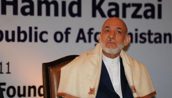 Afganistānas prezidents Karzajs nekandidēs uz trešo termiņu