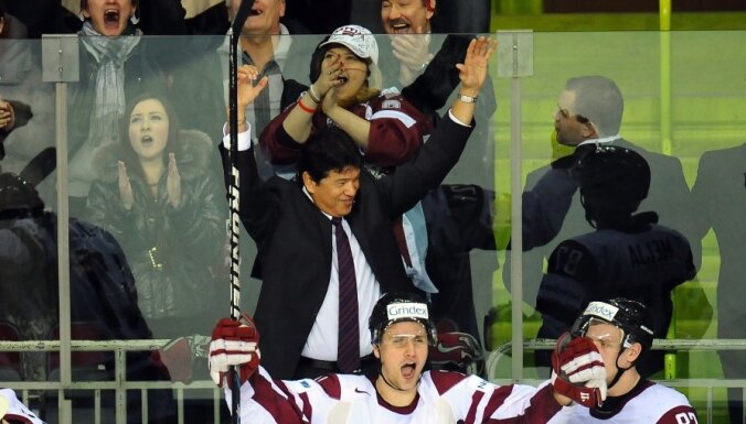 На Олимпиаде-2014 Латвия в одной группе с чехами и шведами