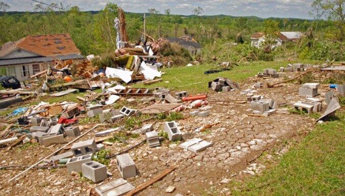 Vētrās ASV dienvidaustrumos četri bojāgājušie
