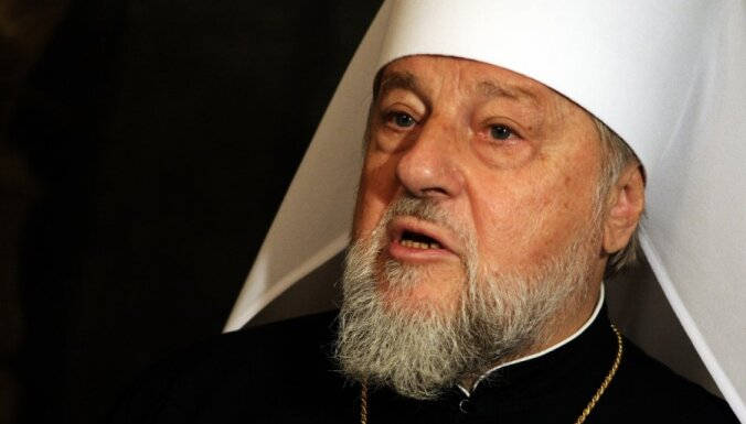 Митрополит Александр поздравил православных Латвии с Рождеством