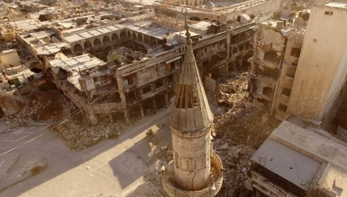 ANO pasludina Alepo austrumus par aplenktu apgabalu