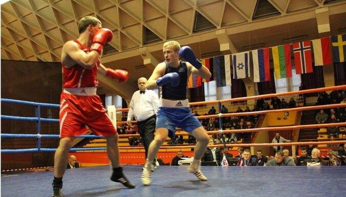 Латвийские боксеры завоевали семь золотых медалей на Riga Open-2014