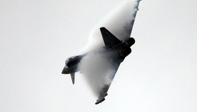 Из-за неблагоприятных условий полет самолетов НВС и союзников над городами Латвии не состоится