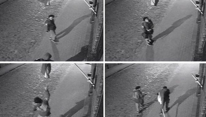 Полиция просит опознать юношу, совершившего преступление