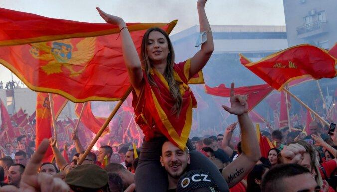 ФОТО: В Черногории проходят массовые протесты против просербской политики