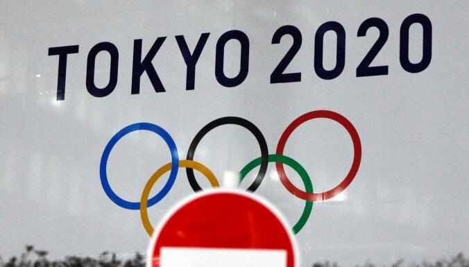 Oficiālais Tokijas olimpisko spēļu laikraksts iebilst pret to norisi