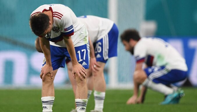 ВИДЕО: Россия впервые за 13 лет проиграла первый матч на ЕВРО, зрители освистали Бельгию