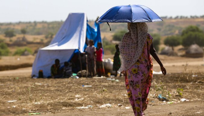 ANO: no Etiopijas uz Sudānu devušies vairāk nekā 14 500 bēgļu
