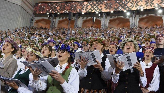 Праздник песни и танца предлагается проводить в эпидемиологически безопасных краях