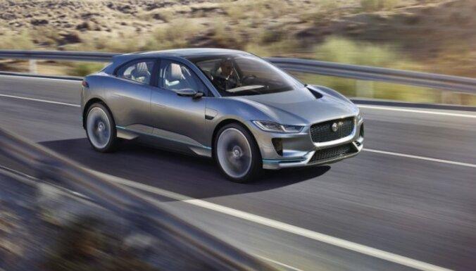 Jaguar начнет продажи своего первого электромобиля в 2018 году