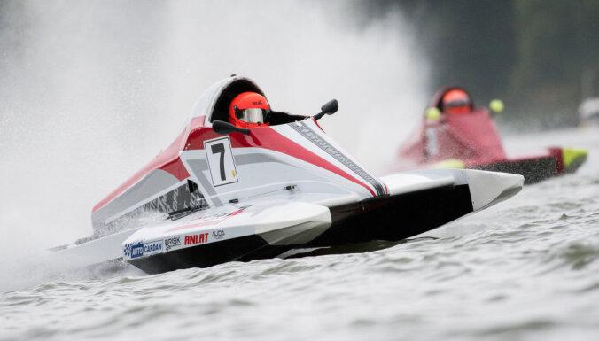 Ieva Millere aizstāv Eiropas čempiones titulu ātrumlaivās