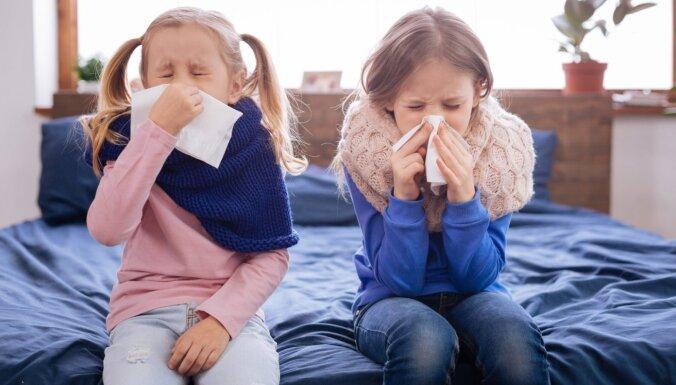 Bērns saaukstējies: profilaktiskie pasākumi, kurus veikt mājās