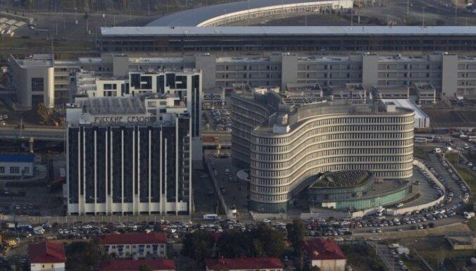 Журналисты LTV остались без отеля в Сочи: не успели построить