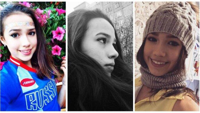 Privāti foto: Kā dzīvo krievu pusaudze, kura izcīnīja olimpisko zelta medaļu