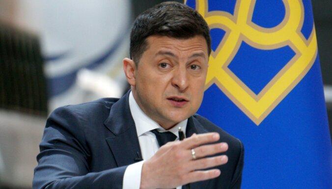 Зеленский потребовал от Тбилиси разъяснений в связи с задержанием Саакашвили