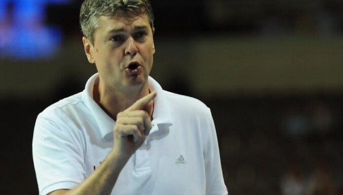 Latvijas otrā basketbola izlase ar zaudējumu sāk pārbaudes spēļu sēriju Ķīnā