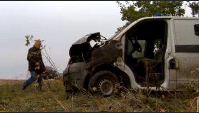 Traģiskā avārijā Klintainē bojā gājis inkasācijas auto vadītājs