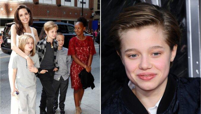 Džolijas un Pita puiciskā meita kļūst arvien sievišķīgāka