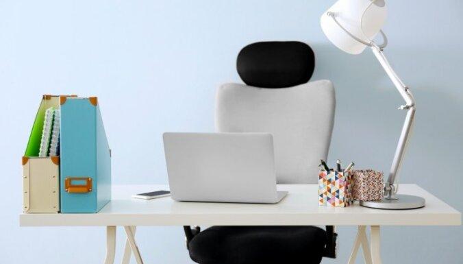 Pārvērtības ofisā – kā ietērpt krēslu jaunā izskatā