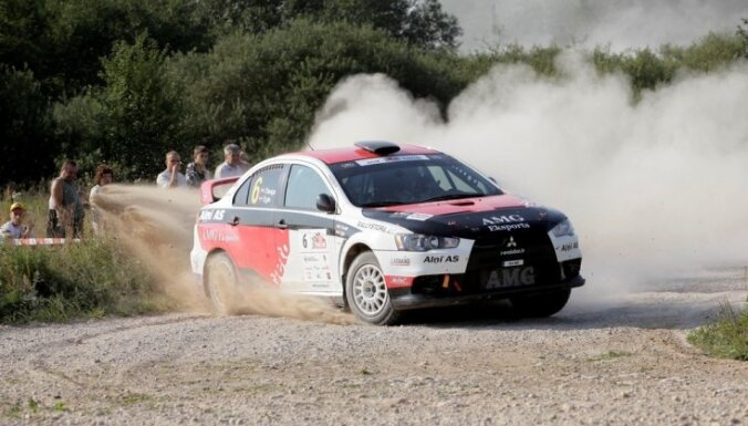 Aivis Egle: rallijā 'Kurzeme' uzvarēs stabilākais braucējs