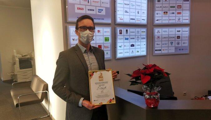 Starp Vācijas-Baltijas 'Uzņēmējdarbības balvas 2020' laureātiem – divi Latvijas uzņēmumi