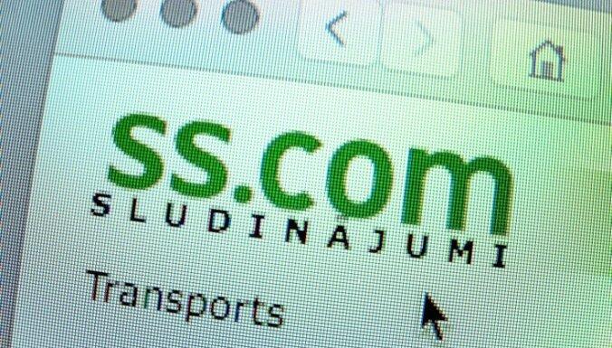 Цируле: сумма неуплаченных налогов от продаж машин на портале ss.lv достигает 50 млн. евро